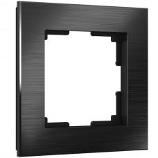 Рамка Aluminium черный алюминий W0011708
