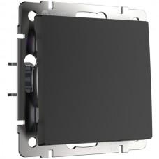 Переключатель Встраиваемые механизмы черные W1113008