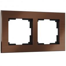 Рамка Aluminium коричневый алюминий W0021714