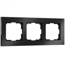 Рамка Aluminium черный алюминий W0031708