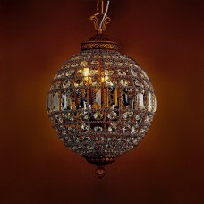 Подвесной светильник 108 KR0108P-3 antique brass
