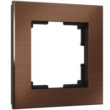 Рамка Aluminium коричневый алюминий W0011714