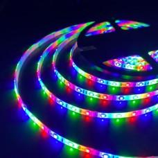 Светодиодная лента 12V 4,8W IP65 Лента светодиодная 12V 4,8W 60Led 2835 IP65 RGB, 5м
