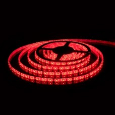 Светодиодная лента 12V 4,8W IP20 Лента светодиодная 12V 4,8W 60Led 2835 IP20 красный, 5м